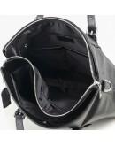 Фотография Черная мужская повседневная кожаная сумка M770-3A