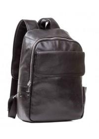 Мужской рюкзак кожаный черного цвета M7806A