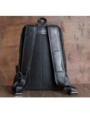 Фотография Мужской рюкзак кожаный черного цвета M7806A