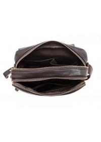Кожаная мужская черная сумка M8088A