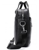 Фотография Мужская черная кожаная сумка для документов M8522A