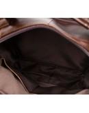 Фотография Сумка коричневая мужская с ручкой для руки M8870C