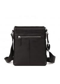 Мужская черная кожаная сумка, на плечо M899-1A