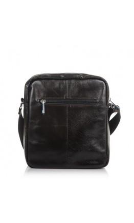 Темно-коричневая кожаная плечевая сумка M9108C