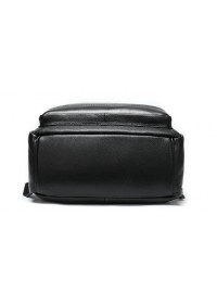Мужской черный кожаный рюкзак M8878A