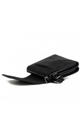Кожаный мужской мессенджер, черный цвет M9833A