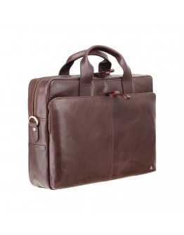 Коричневая кожаная мужская сумка Visconti ML30 (Brown)