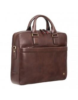 Деловая коричневая сумка Visconti ML34 Victor (Brown)