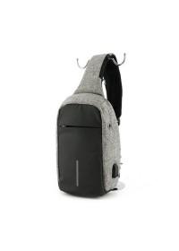 Серая сумка на плечо Mark Ryden Minibobby MR5898 gray