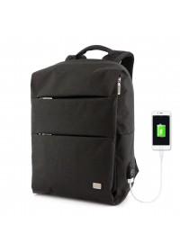 Черный мужской удобный рюкзак MARK RYDEN TRAFFIC MR5911 BLACK