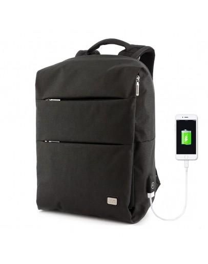 Фотография Черный мужской удобный рюкзак MARK RYDEN TRAFFIC MR5911 BLACK