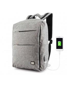 Серый мужской вместительный рюкзак MARK RYDEN TRAFFIC MR5911 GRAY
