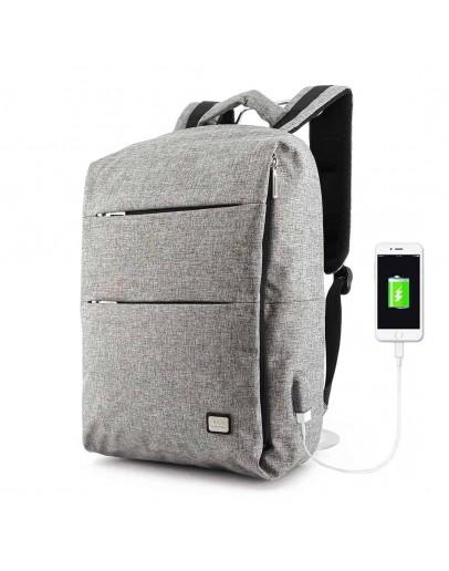 Фотография Серый мужской вместительный рюкзак MARK RYDEN TRAFFIC MR5911 GRAY