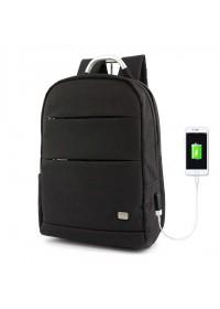 Черный классический удобный мужской рюкзак MARK RYDEN OXFORD MR6320 BLACK