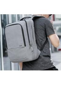Тканевый мужской рюкзак MARK RYDEN ATOMIC MR6421 GRAY