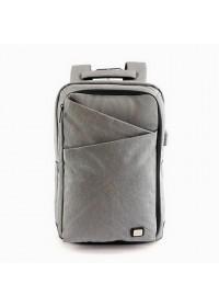 Серый рюкзак MARK RYDEN COSMO MR6433 GRAYUSB