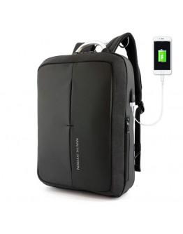 Черный рюкзак трансформер Mark Ryden Case MR6832 black