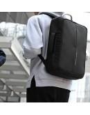 Фотография Черный рюкзак трансформер Mark Ryden Case MR6832 black