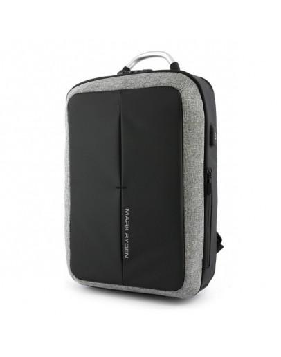 Фотография Удобный рюкзак мужской Mark Ryden Case MR6832 gray
