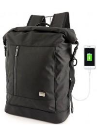 Черный городской рюкзак MARK RYDEN CLEVER MR6875 BLACKUSB