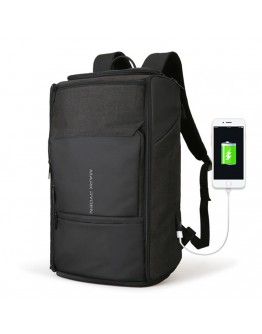 Черный большой мужской рюкзак MARK RYDEN EXPERT MR6888 BLACK