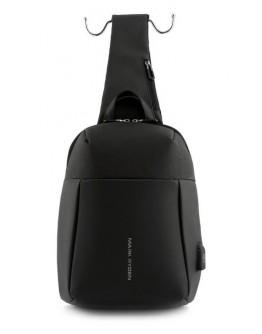 Сумка через плечо, слинг Mark Ryden MINIPANZER MR7000 Black