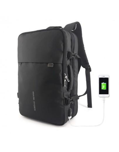 Фотография Мужской вместительный черный рюкзак MARK RYDEN KING MR8057
