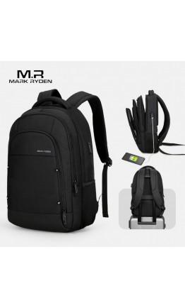 Черный удобный рюкзак MARK RYDEN URBAN MR9010 BLACK