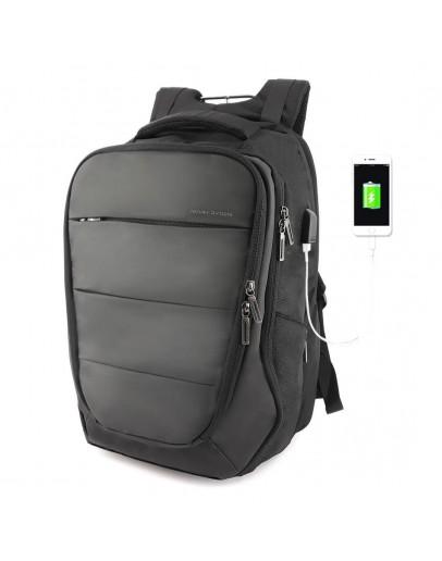 Фотография Мужской вместительный рюкзак MARK RYDEN TURTLE 2 MR9022 BLACK