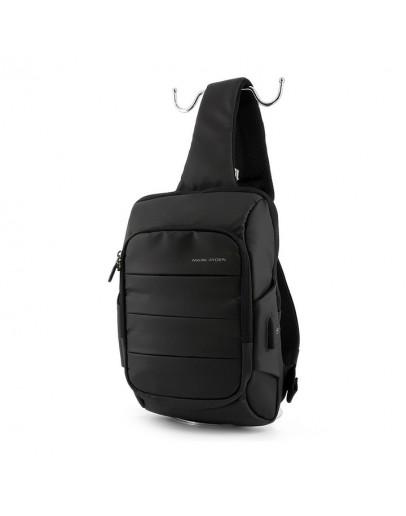 Фотография Мужская сумка - слинг Mark Ryden Miniturtle MRK9084 black