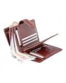 Фотография Женский коричневый кошелек Visconti MZ11 Venice c RFID (Italian Brown)