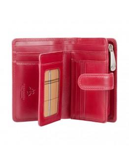 Красный женский кошелек Visconti MZ11 Venice c RFID (Italian Red)