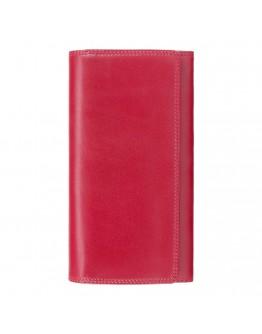 Красный кожаный кошелек Visconti MZ12 Maria c RFID (Italian Red)