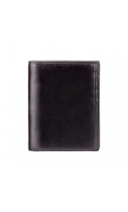 Черное кожаное портмоне Visconti MZ3 Milan c RFID (Italian Black)