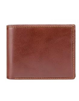 Коричневый кошелек для мужчины Visconti MZ4 Lazio c RFID (Italian Brown)