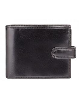 Мужской черный кошелек Visconti MZ5 Rome c RFID (Italian Black)
