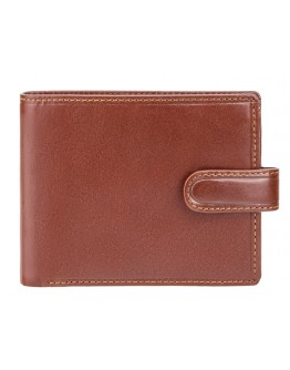 Коричневый кошелек Visconti MZ5 Rome c RFID (Italian Brown)