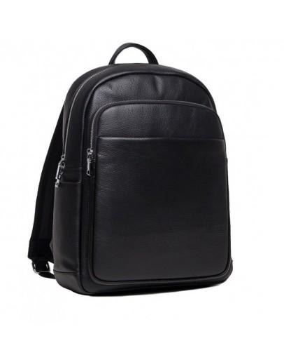 Фотография Черный рюкзак из натуральной кожи мужской NB52-0907A