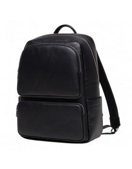 Мужской рюкзак из натуральной кожи черный NB52-0917A