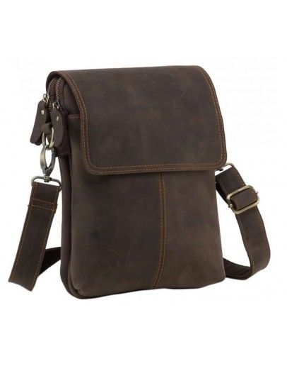 Фотография Кожаная мужская сумка на плечо NM15-2542-1C