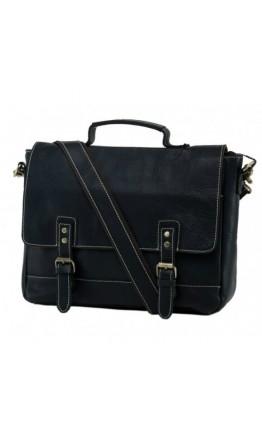 Кожаный мужской портфель черный NM15-2566A