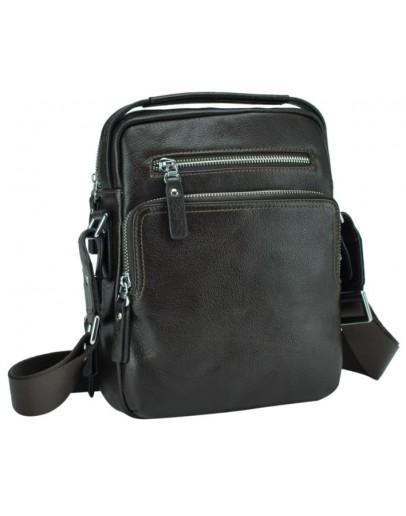 Фотография Коричневая мужская кожаная деловая сумка NM17-0097-2C