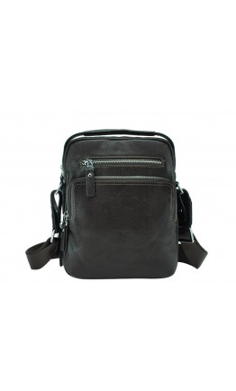Коричневая мужская кожаная деловая сумка NM17-0097-2C