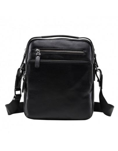 Фотография Вместительная черная сумка мужская на плечо NM17-0097-5A