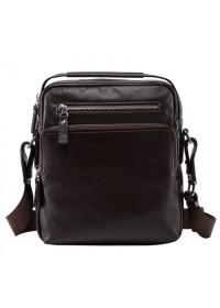 Вместительная коричневая мужская сумка NM17-0097-5C