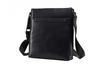 Кожаная мужская сумка без клапана на плечо NM17-1018-2A
