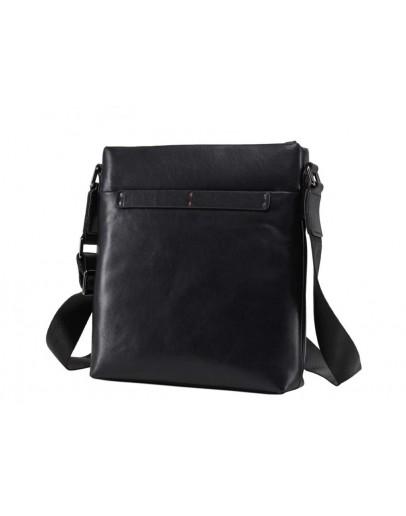 Фотография Кожаная мужская сумка без клапана на плечо NM17-1018-2A