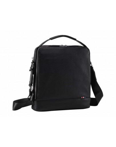 Фотография Кожаная сумка на плечо с ручкой для ношения в руке NM17-1128-2A