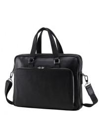 Кожаная деловая мужская городская сумка NM17-33960A