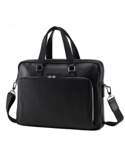 Фотография Кожаная деловая мужская городская сумка NM17-33960A